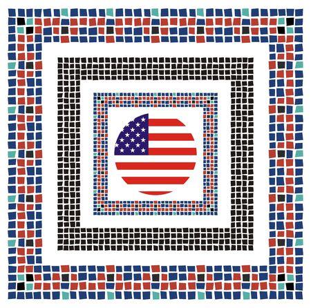 quartered: retro fine art america