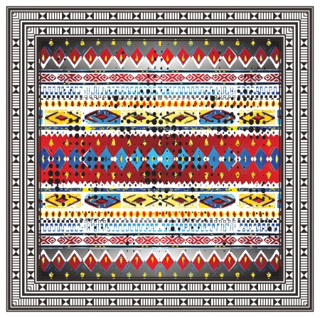 native art pattern Vector