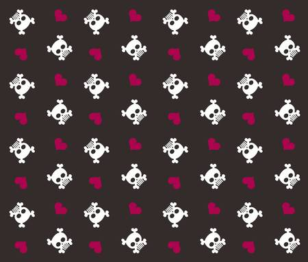 leaks: retro design skull