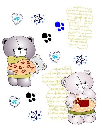 soft toy: all bear Illustration
