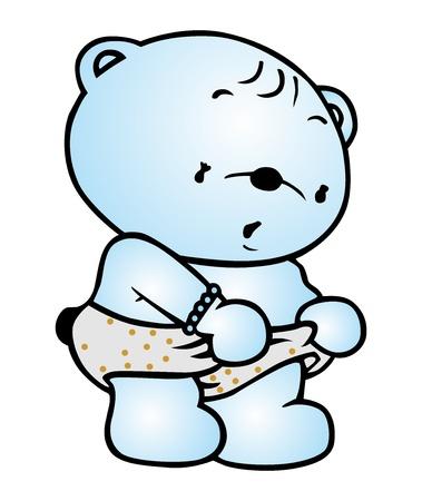 blue bear Stock Vector - 15852757