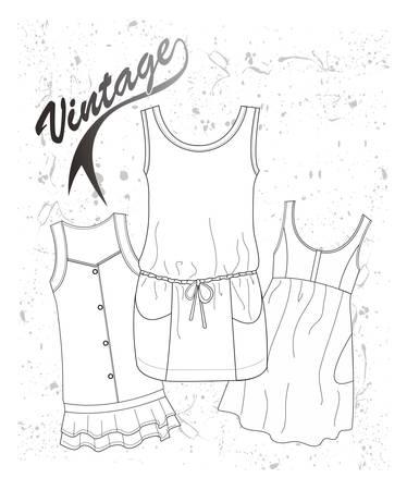 quartered: nice graphic for design apparel