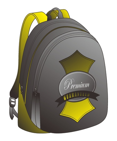 golden bag Vector