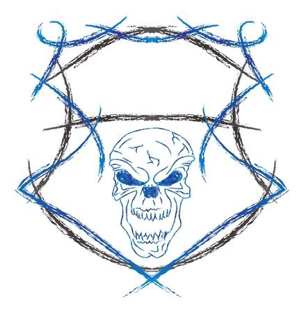 damn: damn skull