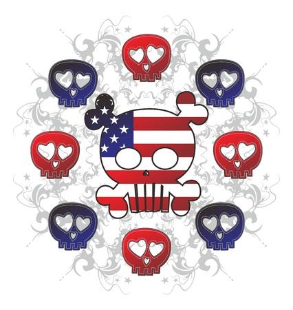 damnation: skull high evil america set