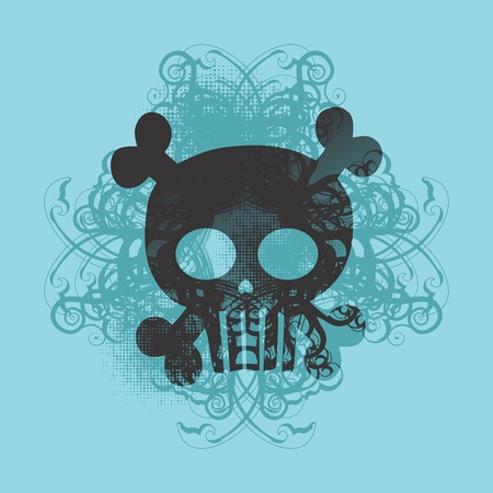 skull more tosca Stock Vector - 16395301