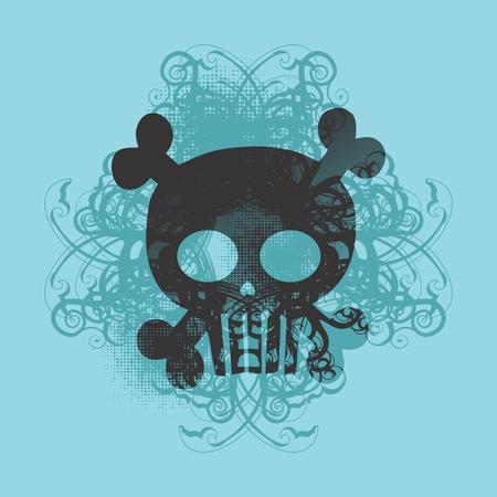 skull more tosca Stock Vector - 16395301