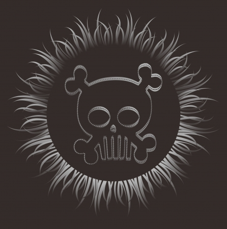 skull more fire Stock Vector - 16395283
