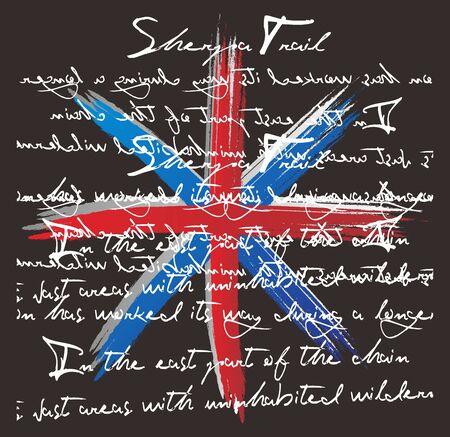flag art Stock Vector - 16971075