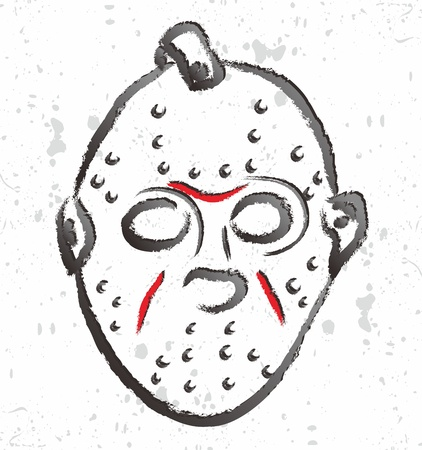 mask devil killer Stock Vector - 16971076