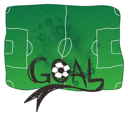 greenfield: soccer goal