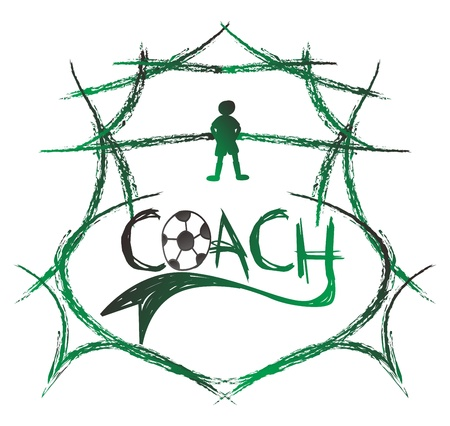 greenfield: soccer coach shield