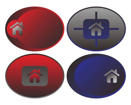 gibbose: web button round