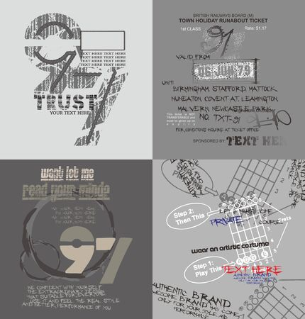 graphic fashion Stock Vector - 16784704