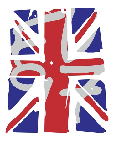united kingdom british flag Stock Vector - 16784688