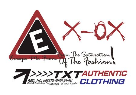 graphic fashion triangle Stock Vector - 16784695