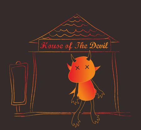 diabolical: satan home