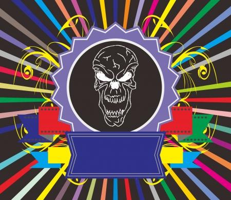 satan colorful Stock Vector - 17106464