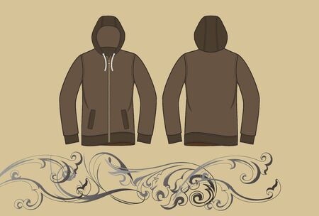 nice hood jacket Stock Vector - 17106260