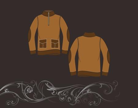 dark jacket Stock Vector - 17106205