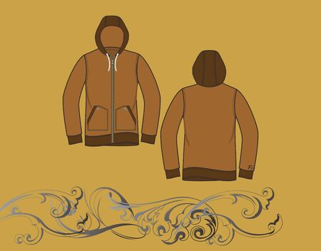 hood jacket Stock Vector - 17106206