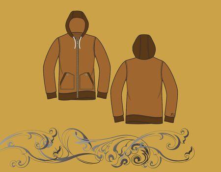 hood jacket Stock Vector - 17106206