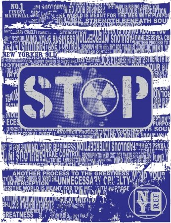 stop danger Stock Vector - 17106097