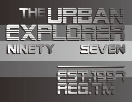 graphic text Stock Vector - 17106088