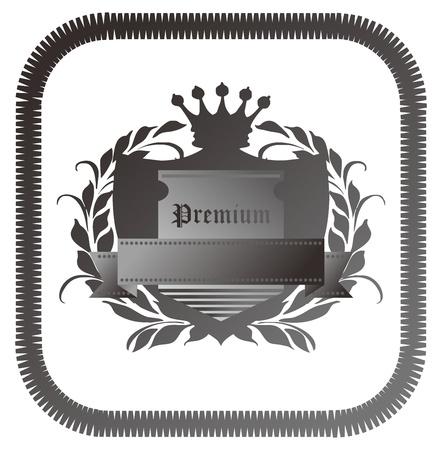 premium grey Stock Vector - 17205832