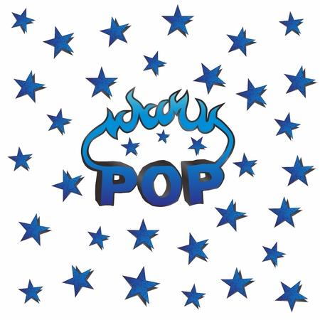 pop star fire Stock Vector - 17362886