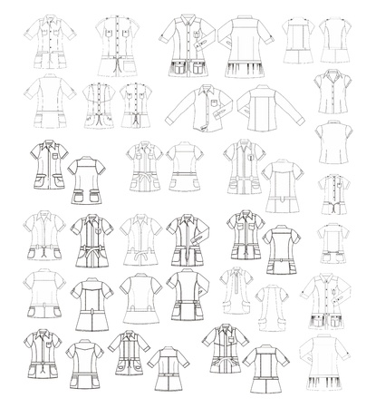 apparel art template many