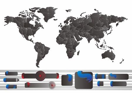precise: world tag Illustration