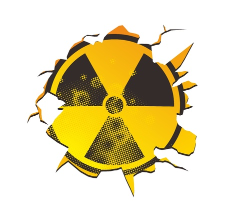 crack nuclear sign