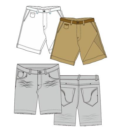 apparel below Illustration