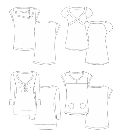 apparel edit Vector