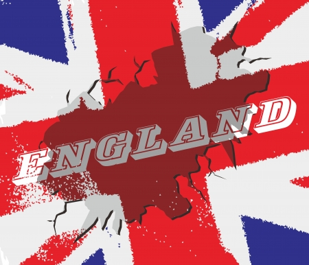 england crack Vector