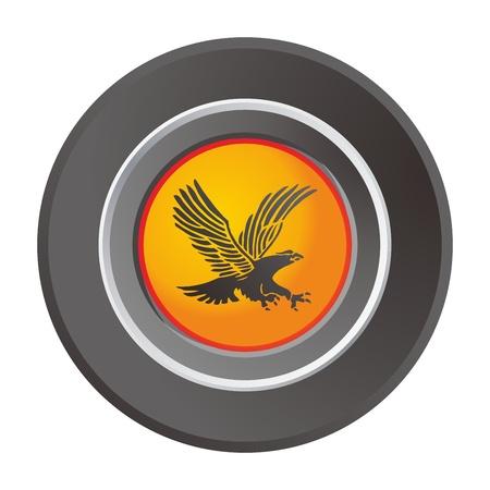 label eagle Stock Vector - 17458494