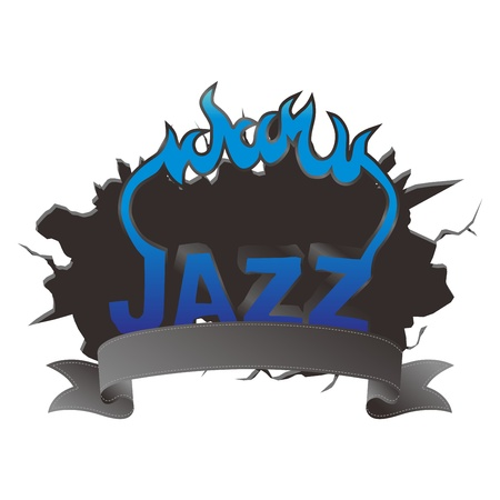 fire jazz Stock Vector - 17480188