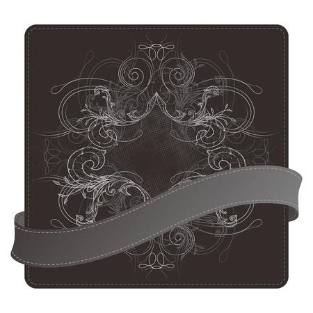 seal floral box Stock Vector - 17546152