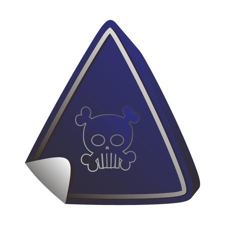 button art skull
