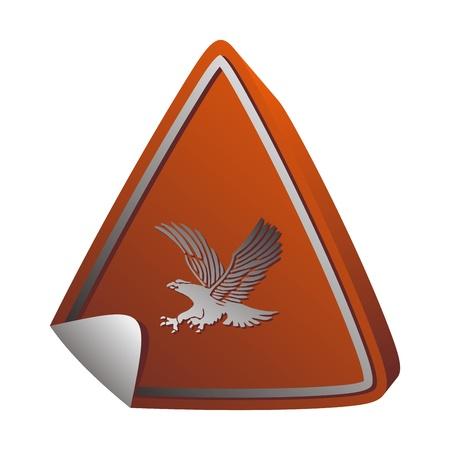 button art bird Illustration