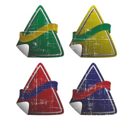 button art triangle
