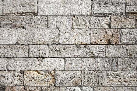 Strong, old stone wall photo
