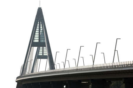 megyeri: Concrete structures of a modern highway bridge