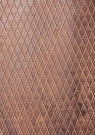Rusty metal pattern background with diagonal lines Stock Photo - 4875442