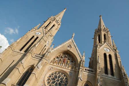 elisabeth: Saint Elisabeth church in Budapest, Hungary Stock Photo