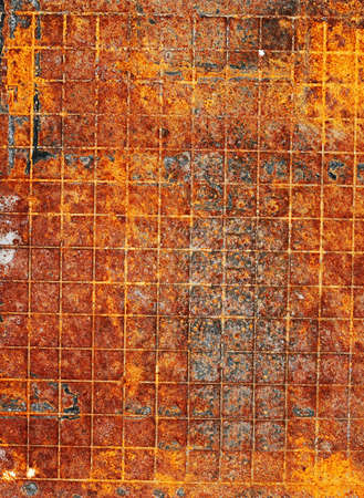 Rusty metal background detailed texture Stock Photo - 5848742