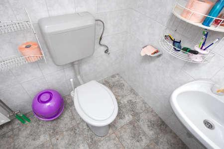 Toilet in a domestic bathroom Stock Photo - 5848424