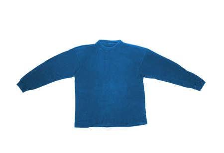 sleeved: Long sleeved shirt isolated on white Stock Photo