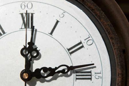 analogue: Old analogue clockface background